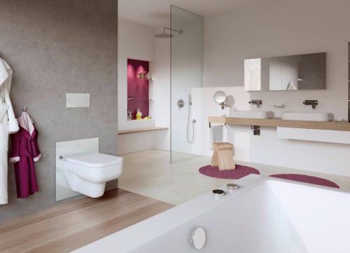 Wastafel Badkamer Hoogte : Stel uw wastafel of toilet met een druk op de knop op de juiste