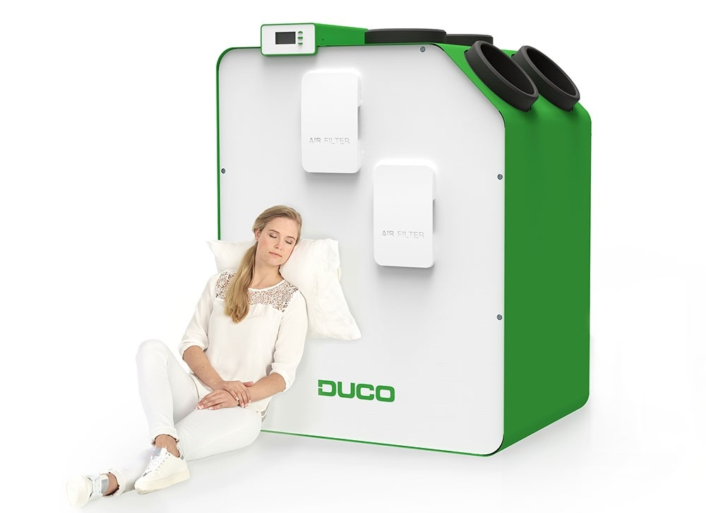 DucoBox Energy. Een stillere WTW-unit is er niet!