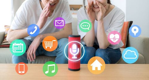 Smart home en slimme speaker