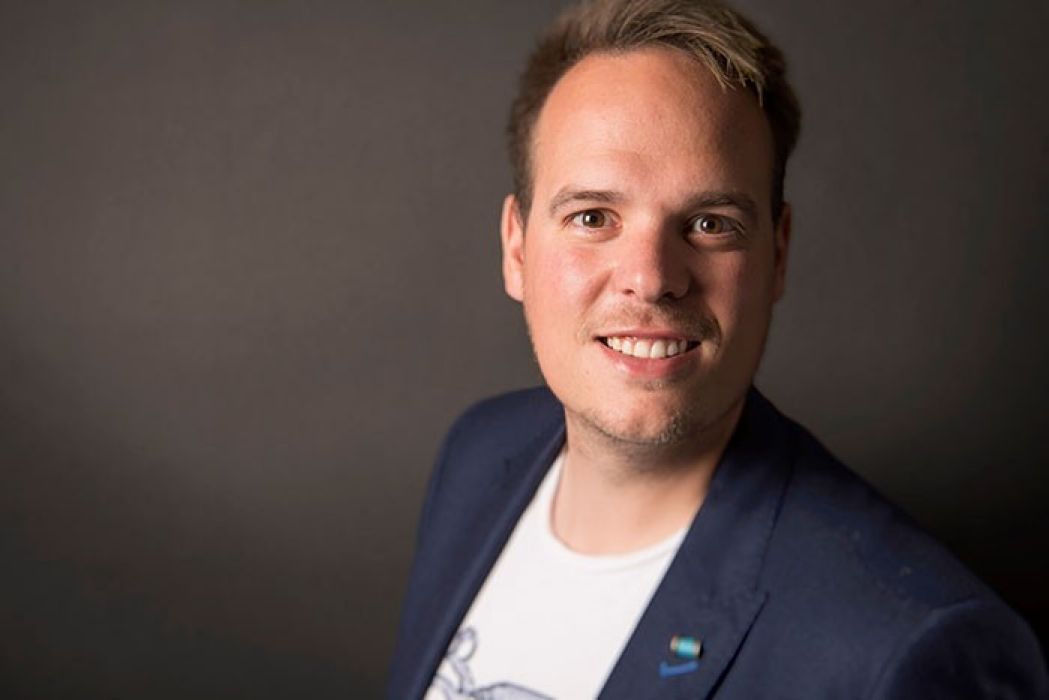 Bastiaan Smeenk, marketing & growth manager van THE FCTR E
