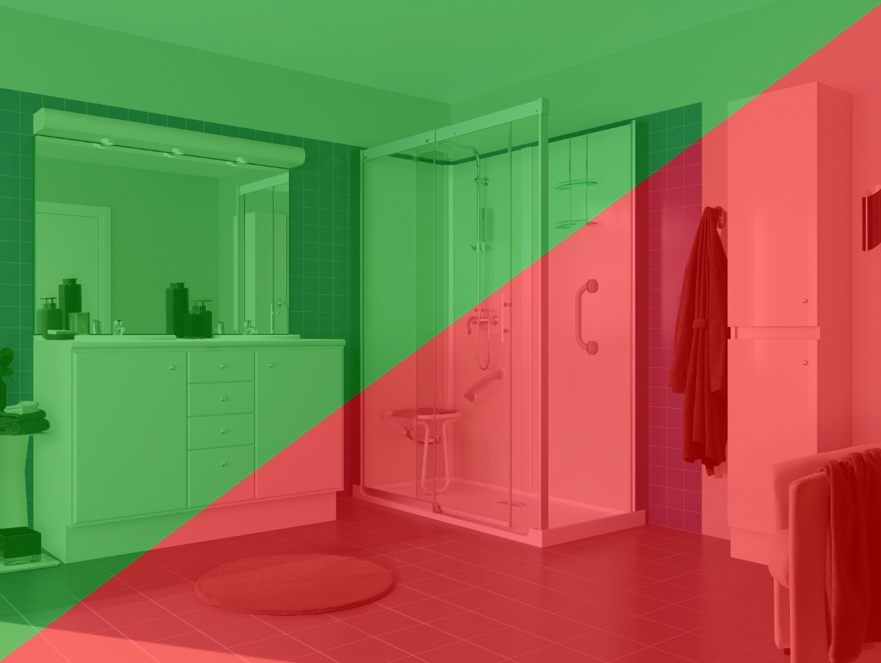 Inloopdouche Met Tegels : De voordelen van een inloopdouche en vooruit ook nadelen