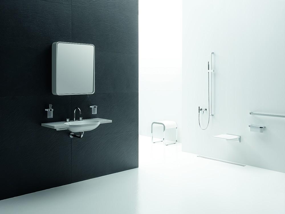 De badkamerspiegel die uw levensstijl reflecteert - Spiegel tv badkamer ...