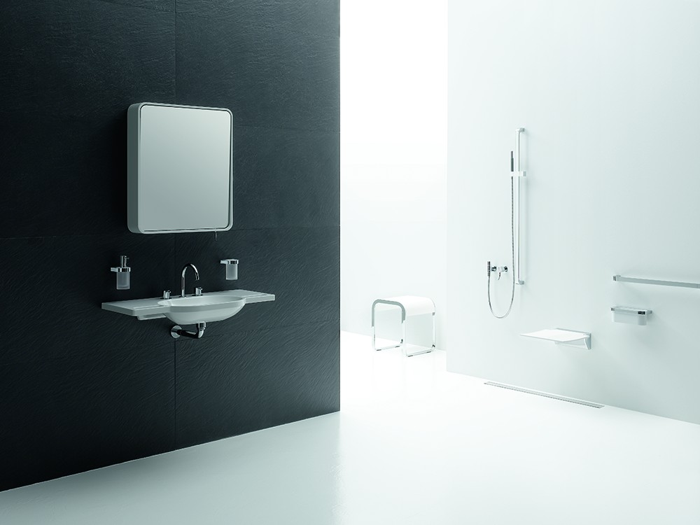 Inloopdouche Met Badkamerspiegel : De badkamerspiegel die uw levensstijl reflecteert