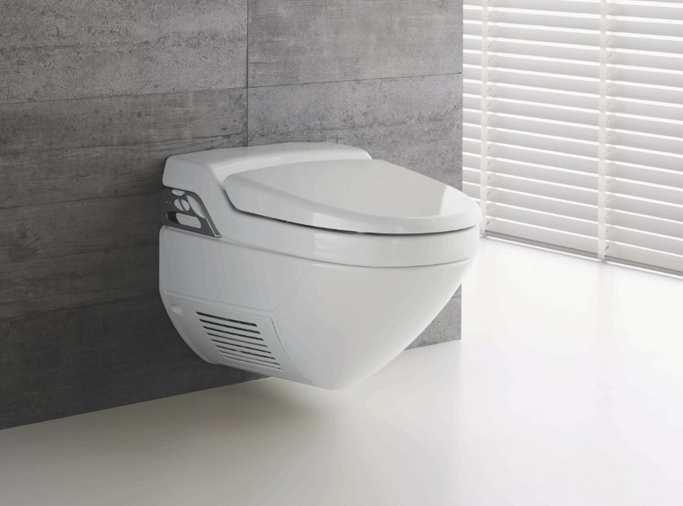 Een douche wc zonder hakken of herrie - Voorbeeld deco wc ...