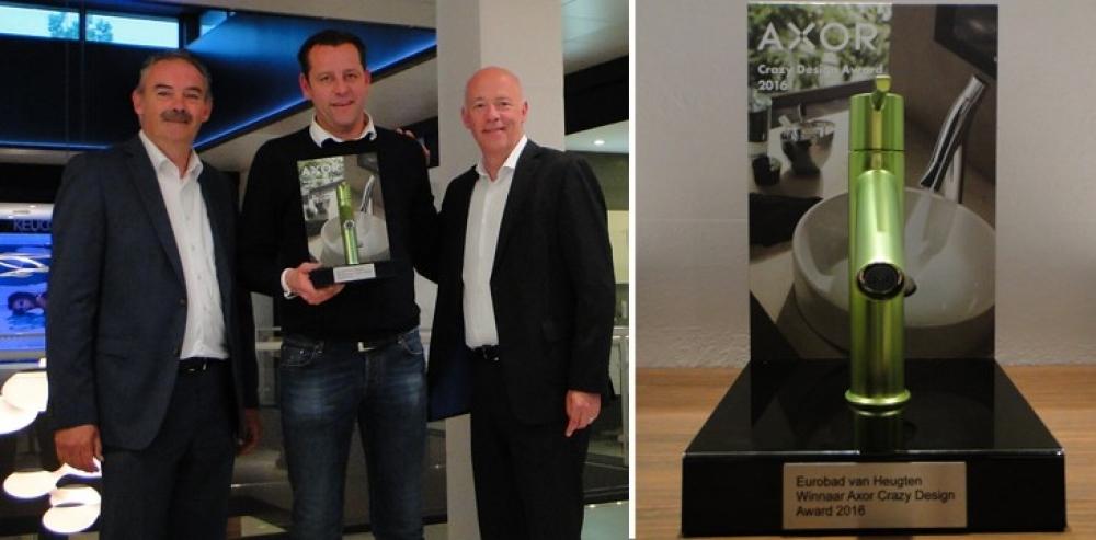 Badkamer Design Award : Axor Crazy Design Award 2016: prijs voor ...
