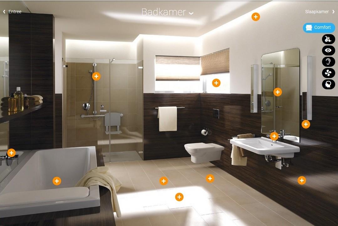 Hulpmiddelen voor keuken, bad, toilet en douche