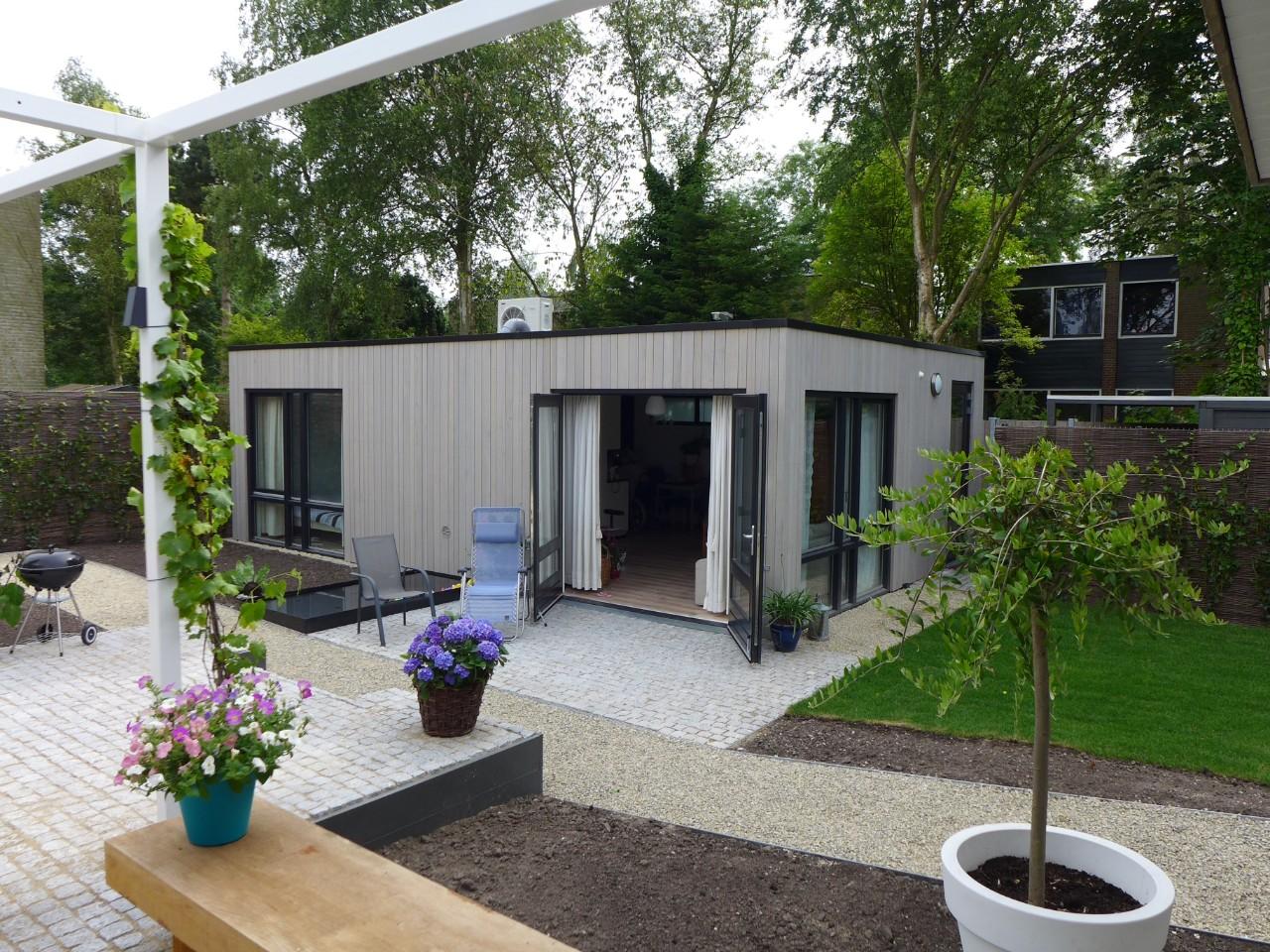 Kant en klare mantelzorgwoning in de tuin for Huis in de tuin