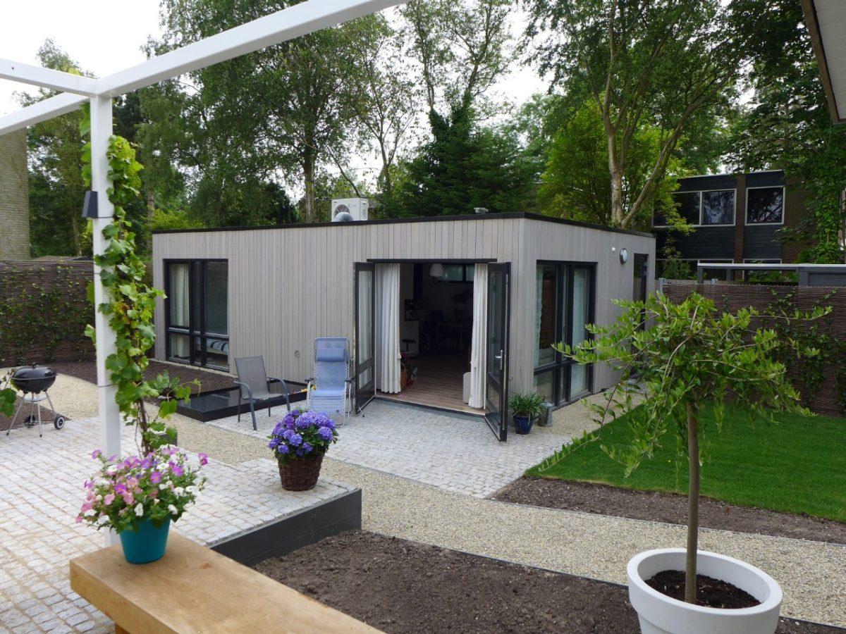 Kant en klare mantelzorgwoning in de tuin for Huis in tuin voor ouders