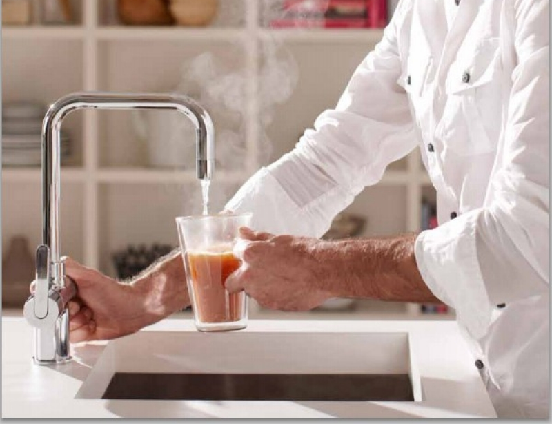 Veiligheid Van Kokendwaterkranen : Koudwatervrees voor kokendwaterkranen ongegrond
