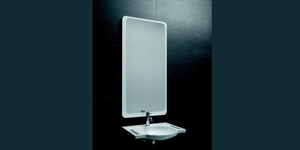 LED-spiegel werpt een nieuw licht op de badkamer