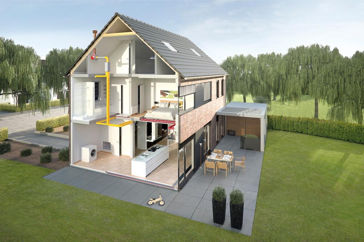 Milieuvriendelijk en energiezuinig verwarmen is de trend for Energiezuinig huis