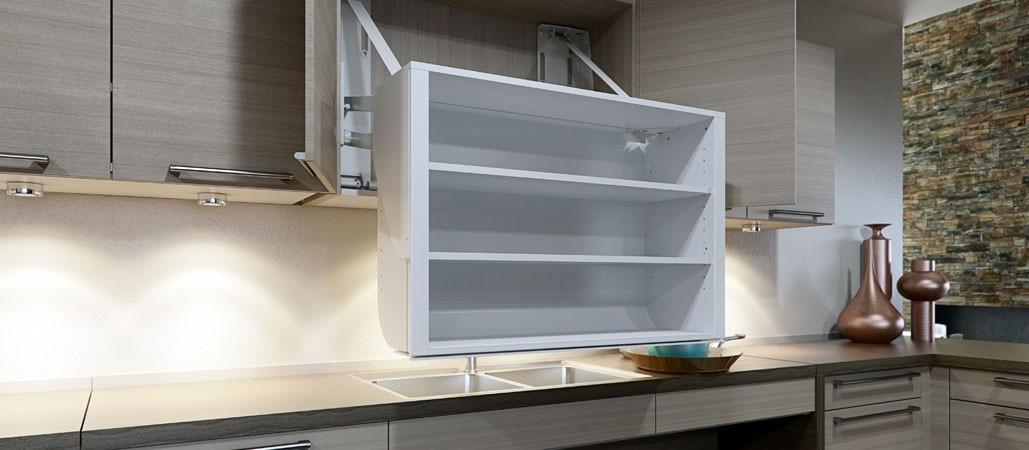 Diagonaal verplaatsbare kast van MCS Keuken u0026 Comfort uit Hengelo