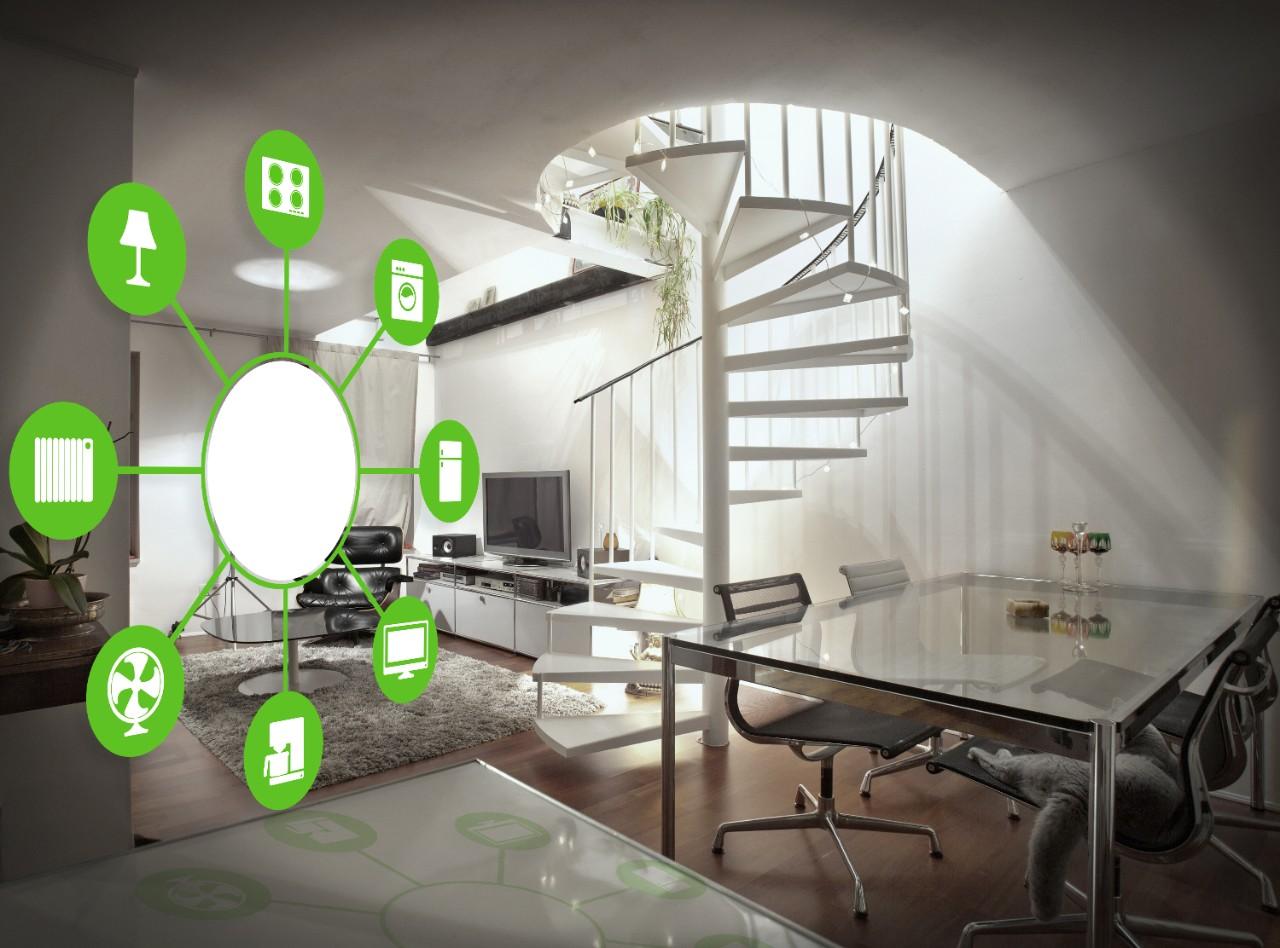 Wenteltrap In Woonkamer : Smart home verovert langzaam de woonkamers