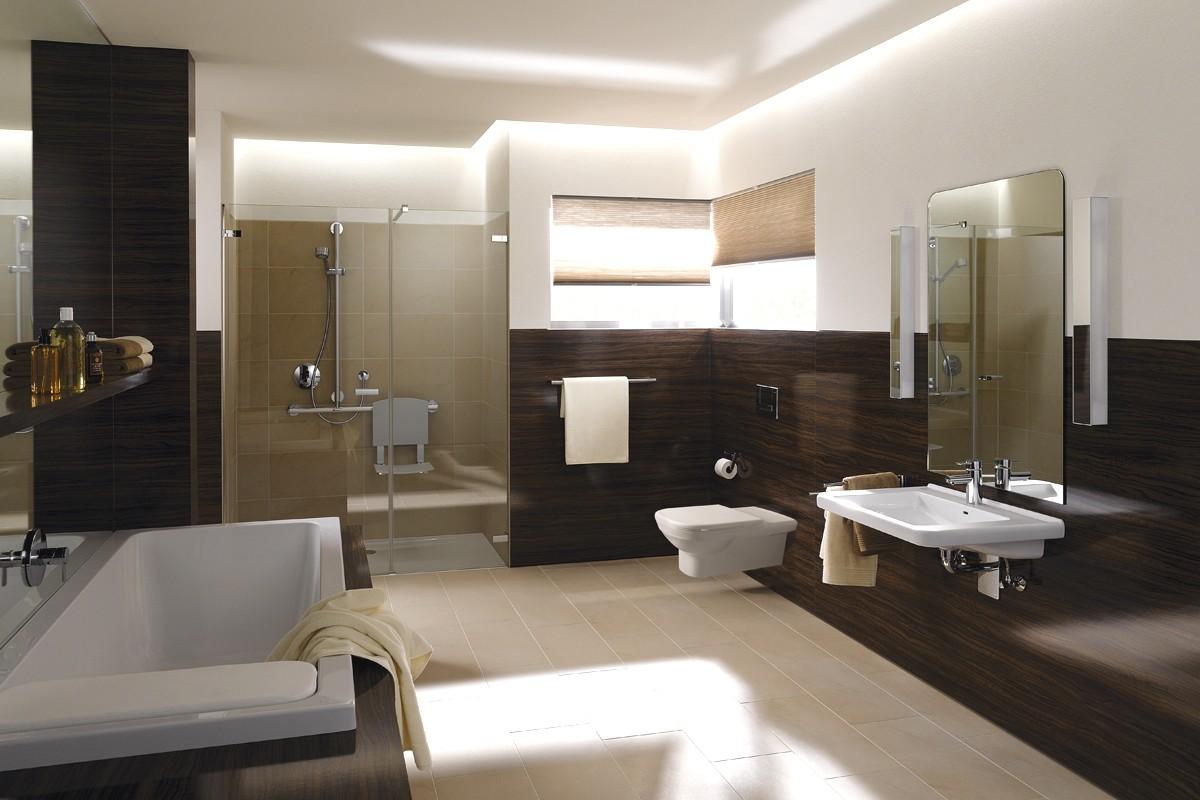 Moderne Badkamers Zonder Tegels: Betonlook tegels badkamer tg wonen ...