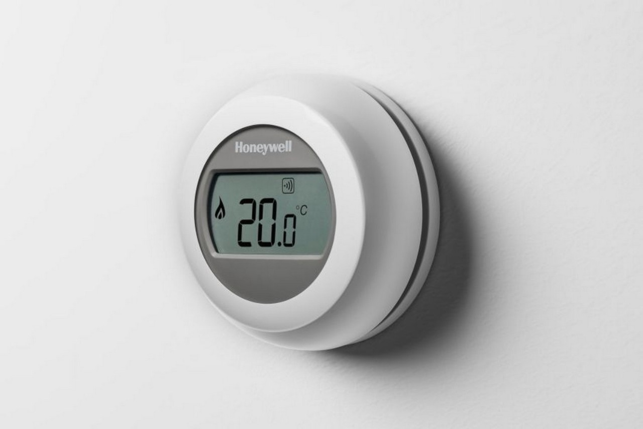 Honeywell verwarmingsthermostaat Round Connected