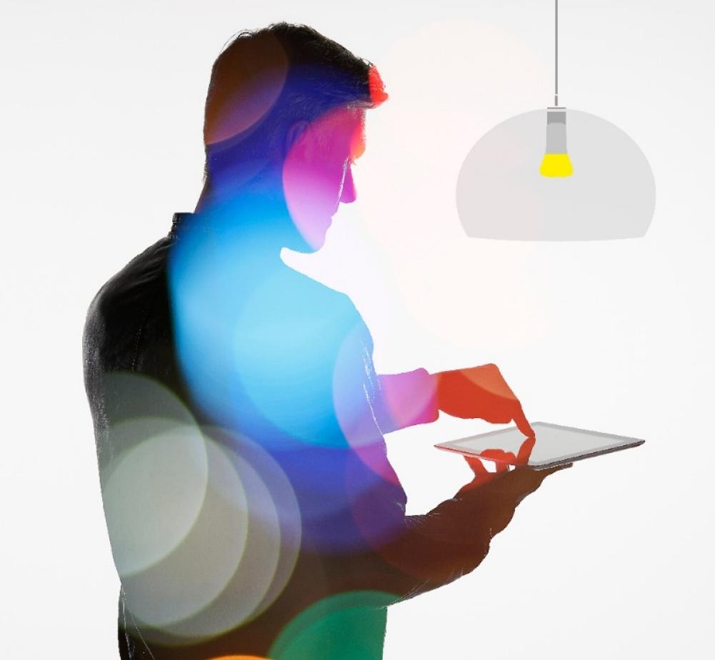op afstand bedienbare verlichting busch jaeger zigbee light link. Black Bedroom Furniture Sets. Home Design Ideas