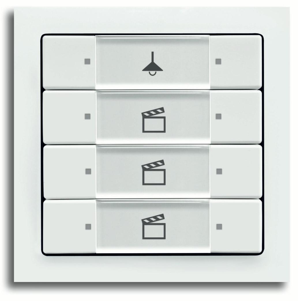 op afstand bedienbare verlichting busch jaeger zigbee. Black Bedroom Furniture Sets. Home Design Ideas