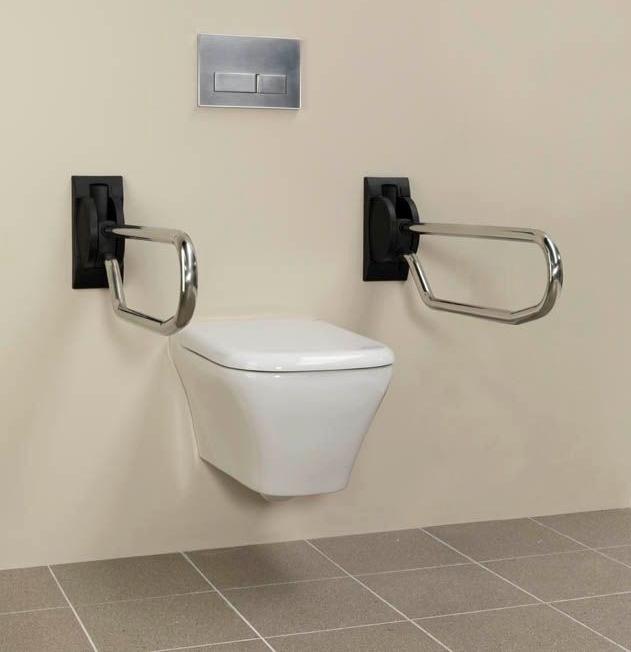 handicare opklapbare toiletbeugel, Badkamer