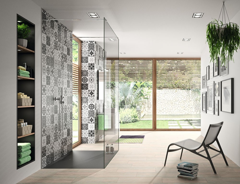 Wandbekleding voor uw badkamer easystyle van hÜppe