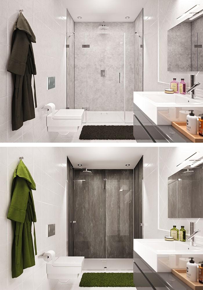 Wandbekleding voor uw badkamer: EasyStyle van HÜPPE