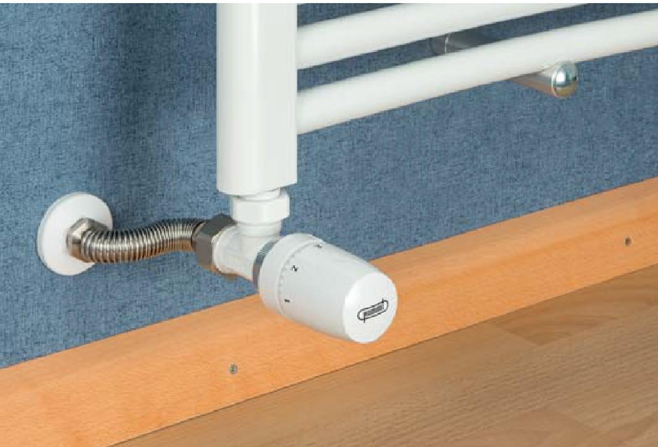 Flexibele RVS radiatoraansluiting HUMMEL