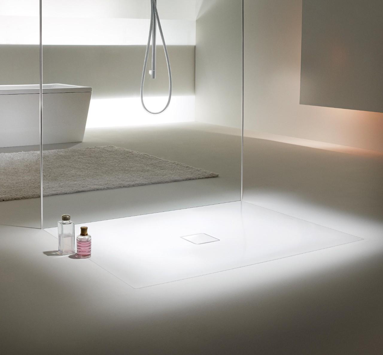 grenzeloos doucheplezier met de kaldewei conoflat douchevloer. Black Bedroom Furniture Sets. Home Design Ideas