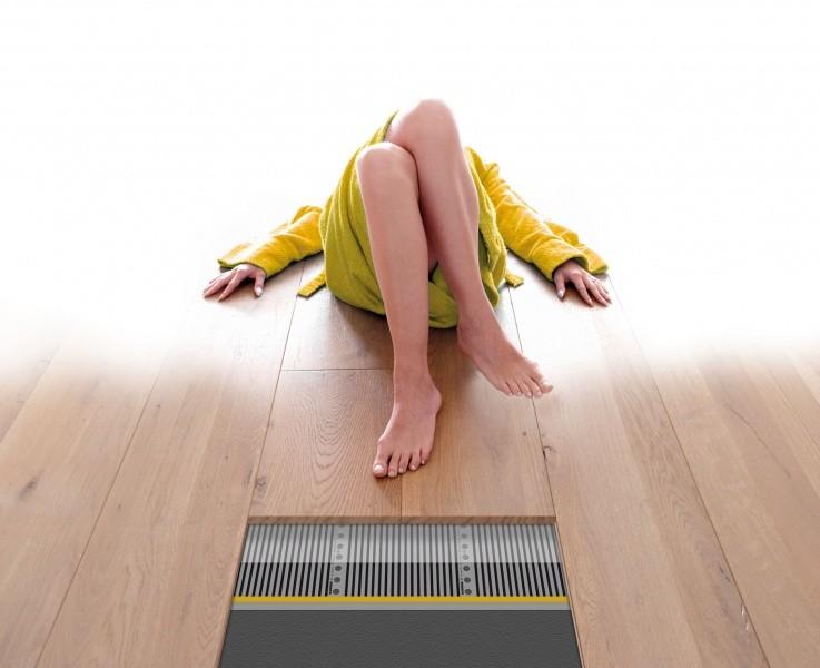 Vloerverwarming voor houten vloeren magnum foil