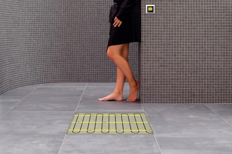 Vloerverwarming Badkamer Elektrisch : Vloerverwarmingsmat magnum mat