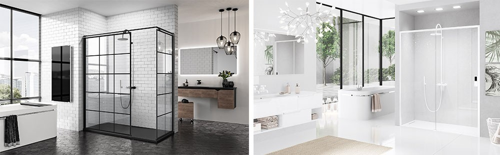 Novellini Black & White sanitair collectie