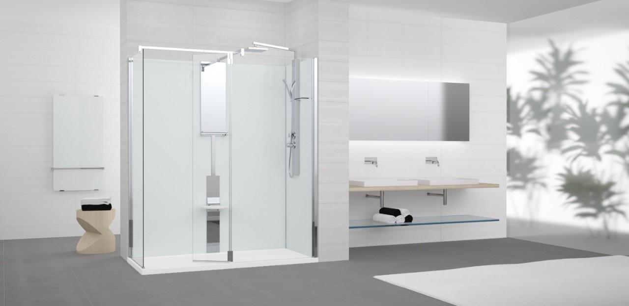 Novellini Revolution: bad vervangen door een douche
