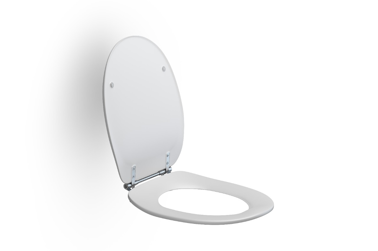Inloopdouche Met Closetzitting : Stabiele toiletzitting met antibacteriële werking pressalit