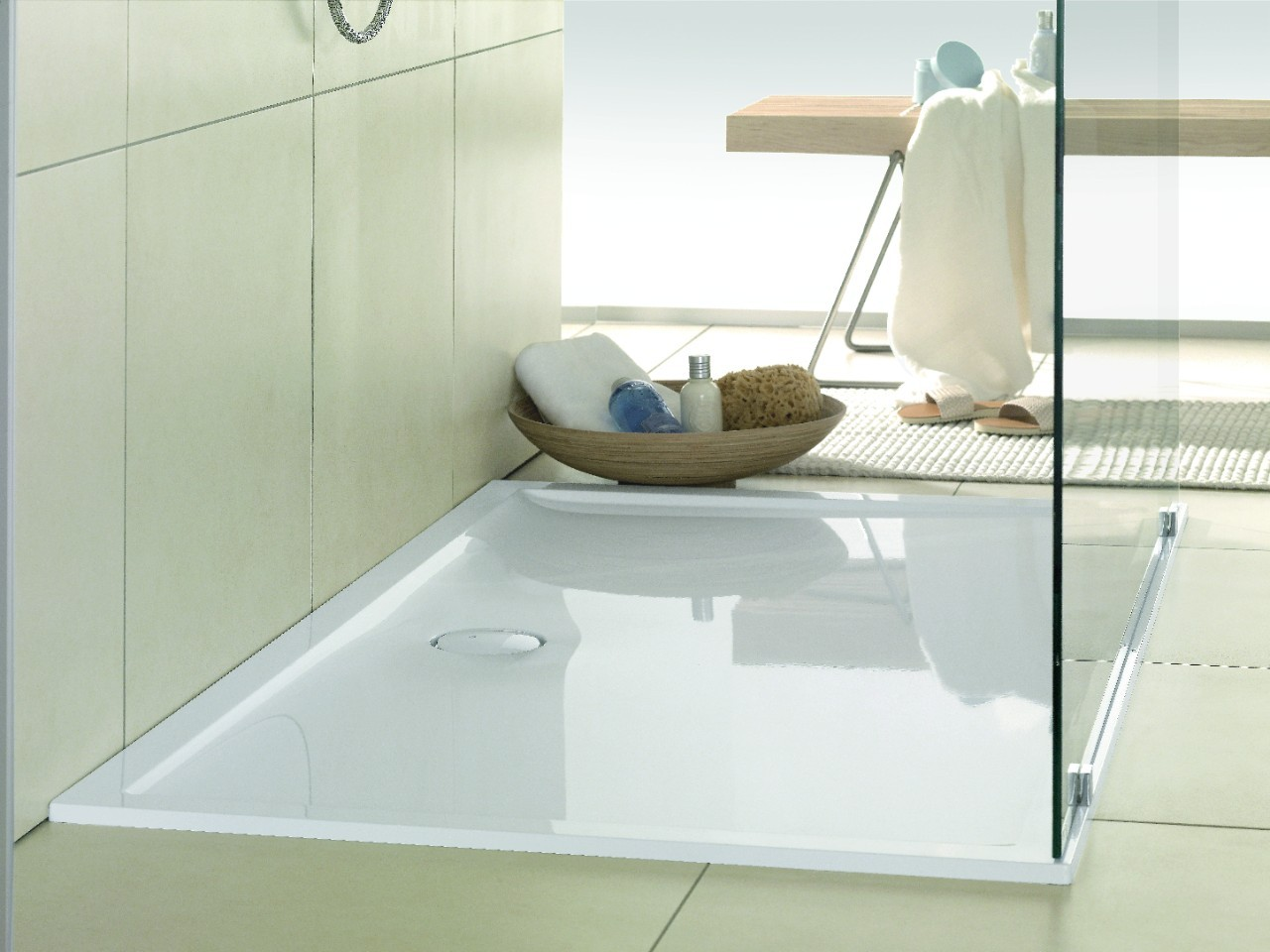 villeroy boch futurion flat inloopdouche. Black Bedroom Furniture Sets. Home Design Ideas