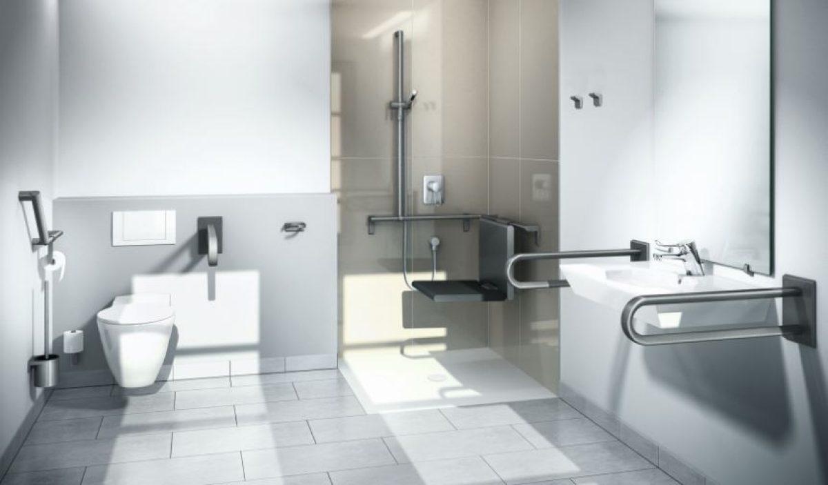Voorbeeld Plattegrond Badkamer : Aangepaste badkamer ouderen oogt modern