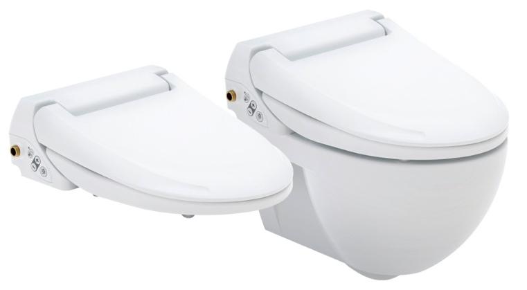 Douche wc voor ultieme hygi ne en comfort - Wc model ...