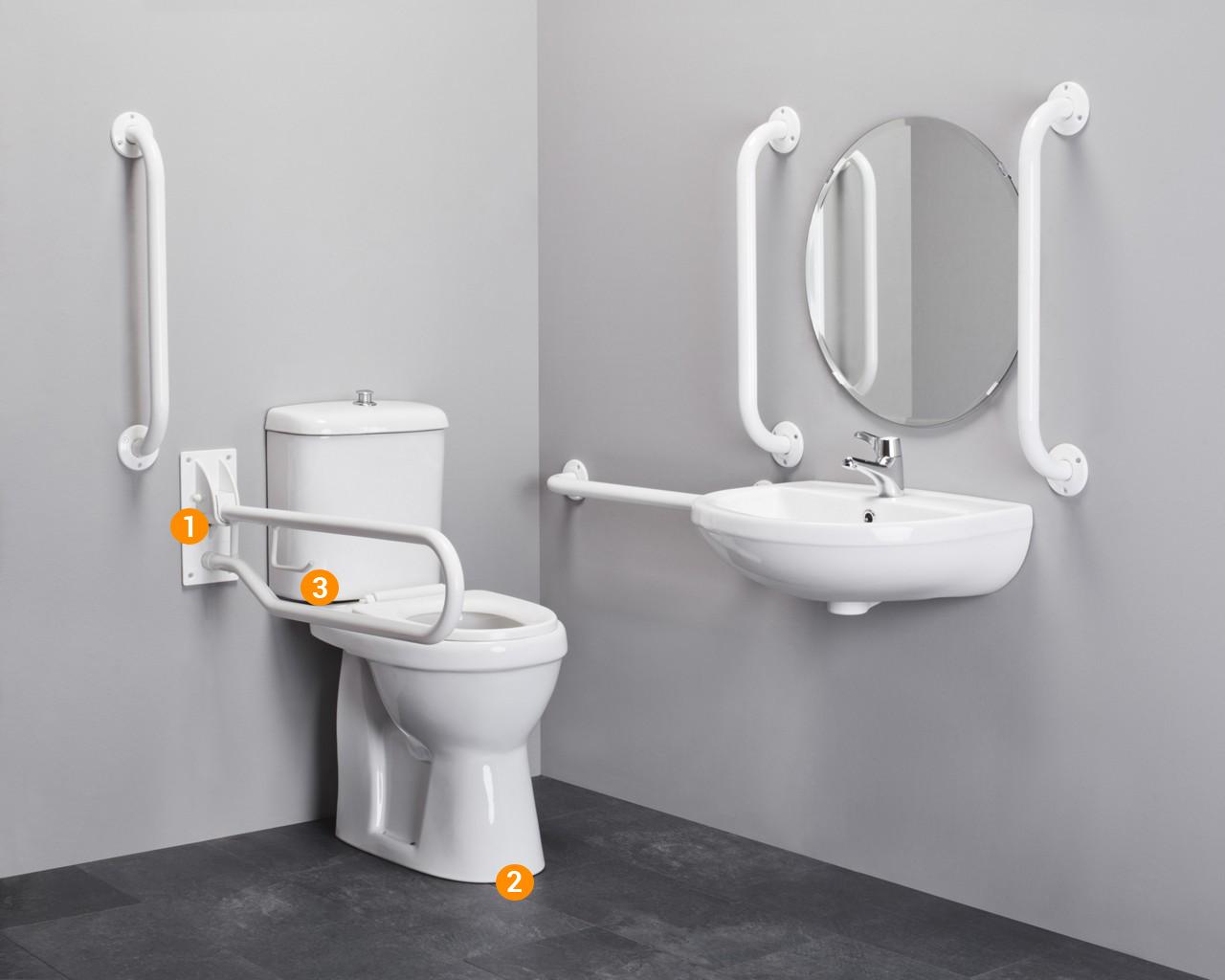 comfort en veiligheid in de badkamer, zo pakt u het aan, Badkamer